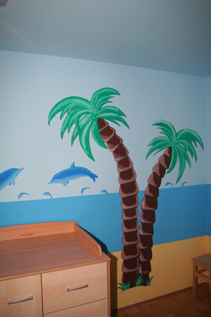 Wandgestaltung Kinderzimmer Beispiel
